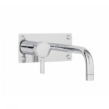 Hudson Reed Tec Single Lever Wall Mounted Basin & Bath Filler