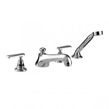Imperial Poulie 4 Tap Hole Bath Filler With Handset