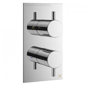 Crosswater MPRO Chrome Thermostatic Shower Valve
