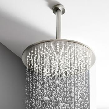 Crosswater MPRO Brushed Stainless Steel 300mm Fixed Shower Head