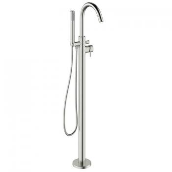 Crosswater MPRO Brushed Stainless Steel Floorstanding Bath Shower Mixer