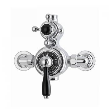 Imperial Radcliffe Exposed Thermostatic Dual Control Shower Valve