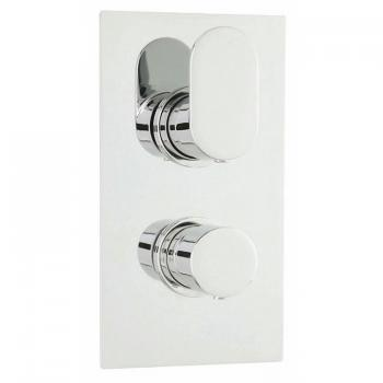 Hudson Reed Reign Square Twin Shower Valve With Diverter