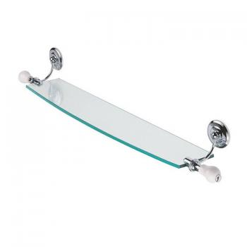 Imperial Rondine Wall Mounted 70cm Glass Shelf