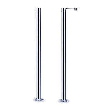 Roper Rhodes Chrome Stand Pipes With Handset Holder