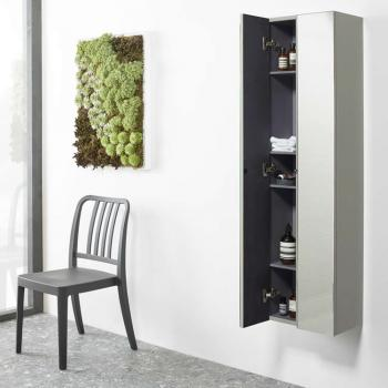Roper Rhodes Scheme Gloss Calico Mirrored Storage Column