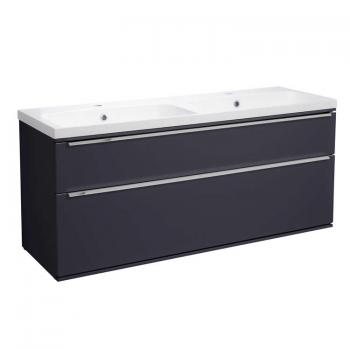 Roper Rhodes Scheme 1200mm Matt Carbon Wall Mounted Vanity Unit & Basin