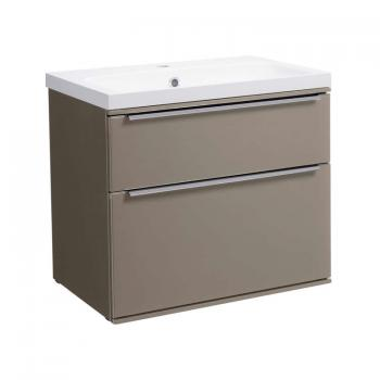 Roper Rhodes Scheme 600mm Matt Light Clay Wall Mounted Vanity Unit & Basin