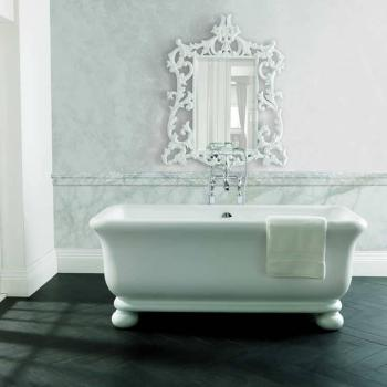 BC Designs Senator Cian Solid Surface Freestanding Bath With Feet