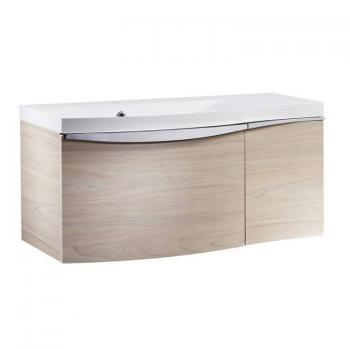 Roper Rhodes Serif 900mm Light Elm Wall Mounted Vanity Unit & Basin