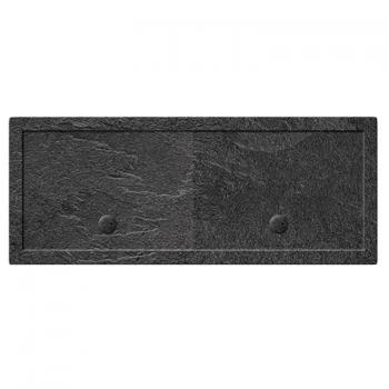 Simpsons 2000 x 800mm Grey Slate Effect Rectangle 35mm Shower Tray