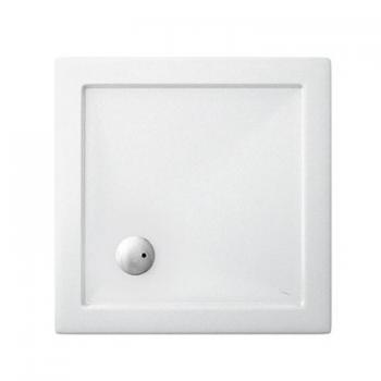 Simpsons 700 x 700mm White Square 35mm Shower Tray