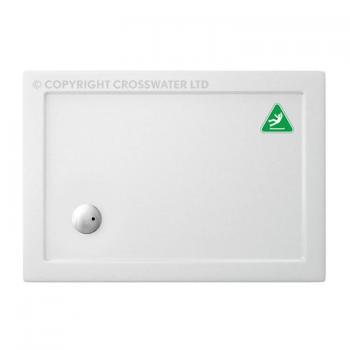 Simpsons 1000 x 800mm Anti-Slip Rectangle 35mm Shower Tray