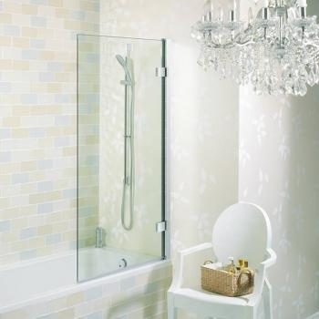 Simpsons Elite Hinged Bath Screen