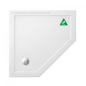 Simpsons 900 x 900mm Pentangle 35mm Anti-Slip Shower Tray