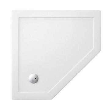 Simpsons 900 x 900mm Pentangle 35mm Shower Tray & Waste