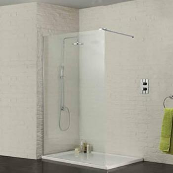 Sommer Wetroom Screen - 700mm - 1400mm