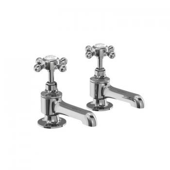 Burlington Stafford Pillar Bath Taps