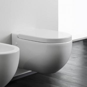 Bauhaus Stream II Wall Hung WC & Soft Closing Seat