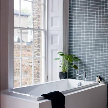 Britton Cleargreen Sustain 1600 x 700mm Single Ended Bath