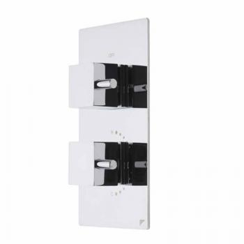Roper Rhodes Event Square Thermostatic Single Shower Valve