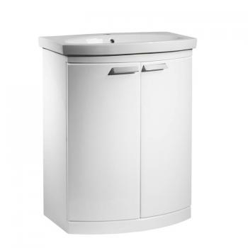Tavistock Tempo Gloss White 650 Freestanding Unit & Basin
