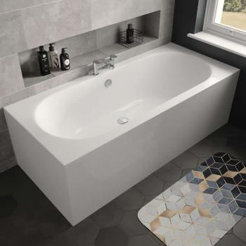 The White Space Magnus 1800 x 800mm Double Ended Bath