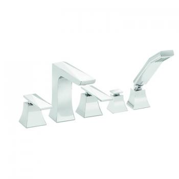 Heritage Hemsby 5 Tap Hole Bath Shower Mixer