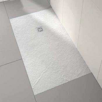 Merlyn Truestone White 1000 x 800mm Rectangle Shower Tray & Waste