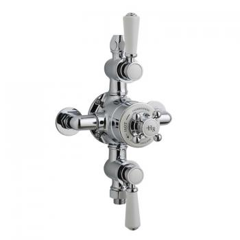 Hudson Reed Topaz Triple Exposed Thermostatic Shower Valve