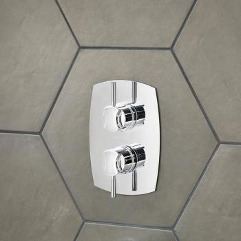 Victoria + Albert Tubo 31 Twin Concealed Shower Valve