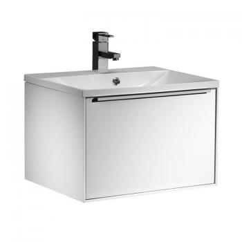 Roper Rhodes Vista Gloss White 600mm Wall Mounted Unit & Basin