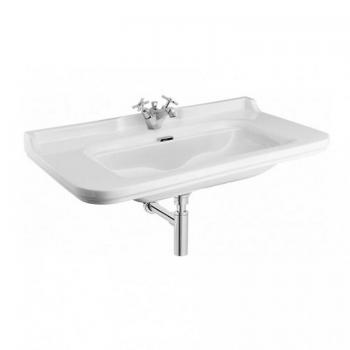 Bauhaus Waldorf 100 Wall Mounted Single Tap Hole Basin
