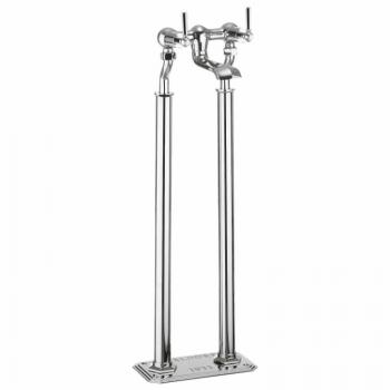 Crosswater Waldorf Chrome Lever Floorstanding Bath Filler