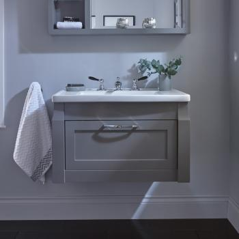 Imperial Radcliffe Westbury Wall Hung Vanity Unit & Basin
