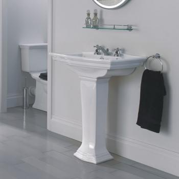 Imperial Westminster Large Basin and Pedestal