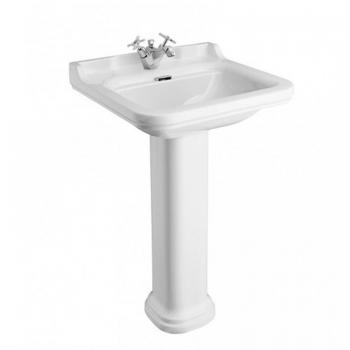 Bauhaus Waldorf 60 Single Tap Hole Basin With Pedestal