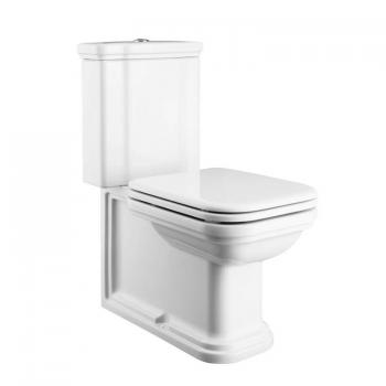 Bauhaus Waldorf Close Coupled WC, Cistern & Seat
