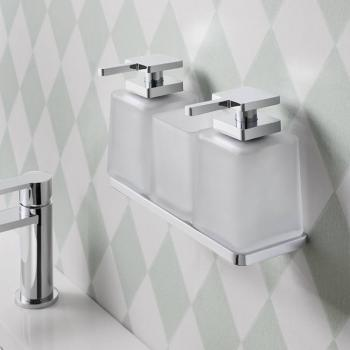 Crosswater Wisp Duo Soap Dispenser With Tumbler Holder Set
