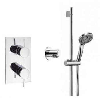 Crosswater Kai Lever Designer Slider Rail Shower Pack