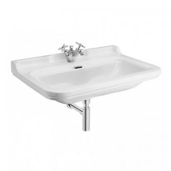 Bauhaus Waldorf 80 Wall Mounted Single Tap Hole Basin