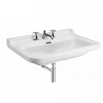Bauhaus Waldorf 80 Wall Mounted Three Tap Hole Basin