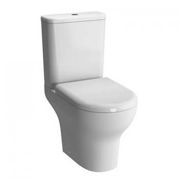 Vitra Zentrum Close Coupled Open Back WC, Cistern & Seat