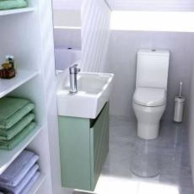 Britton Bathrooms Cloakroom