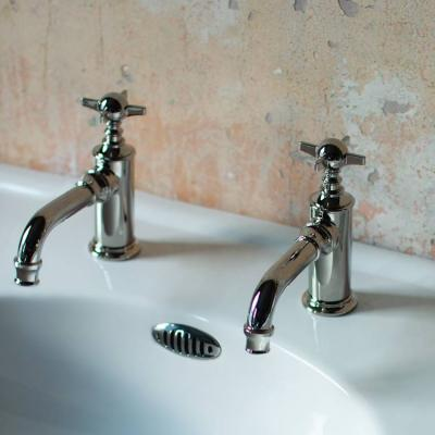 Nickel Basin Taps