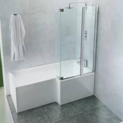 Britton Cleargreen Bath Screens
