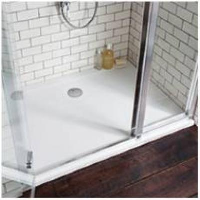 Simpsons 35mm White Acrylic Shower Trays